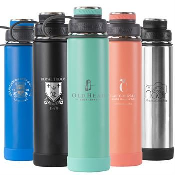 Custom Logo - Ecovessel The Boulder - 24oz (700ml)