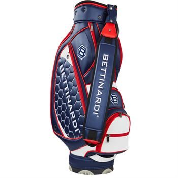 Bettinardi Mini Staff Bag - Blue/Red/White