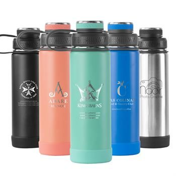 Custom Logo - Ecovessel The Boulder - 20oz (600ml)