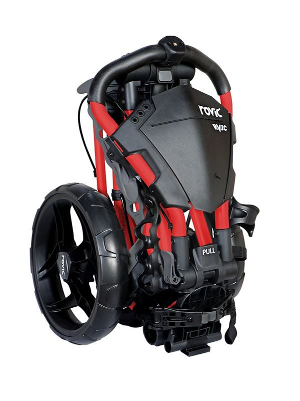 Rovic RV1C Compact Trolley - Black/Red